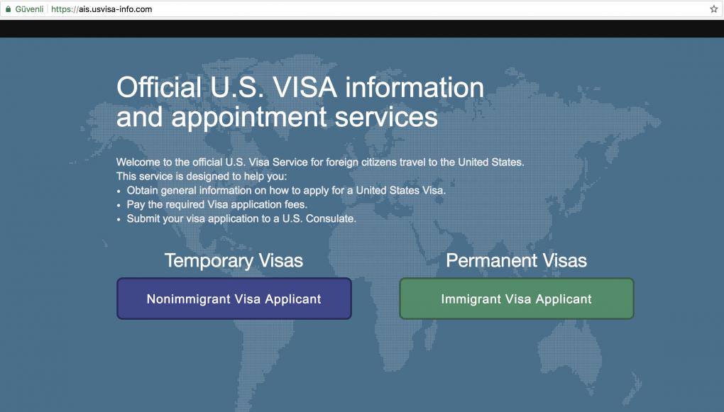 vize başvurusu